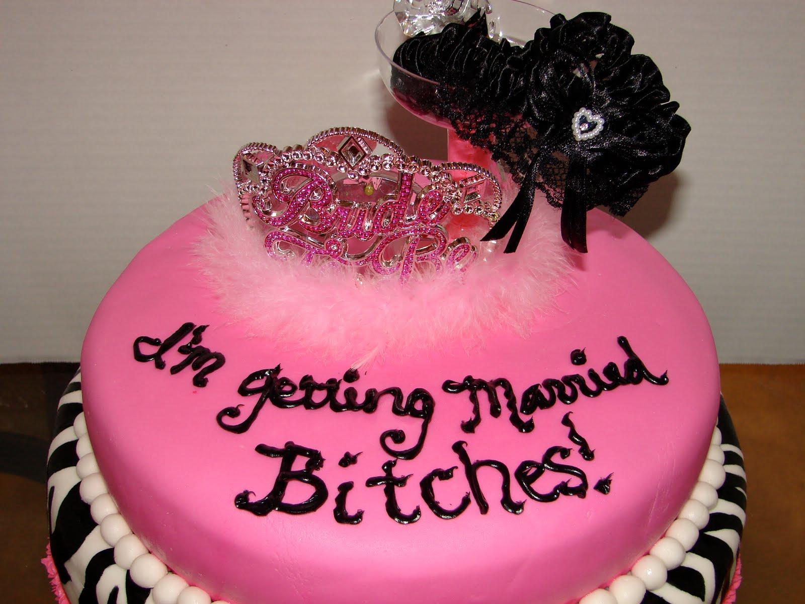 Sarah S Sweet Treats Bachelorette Cake