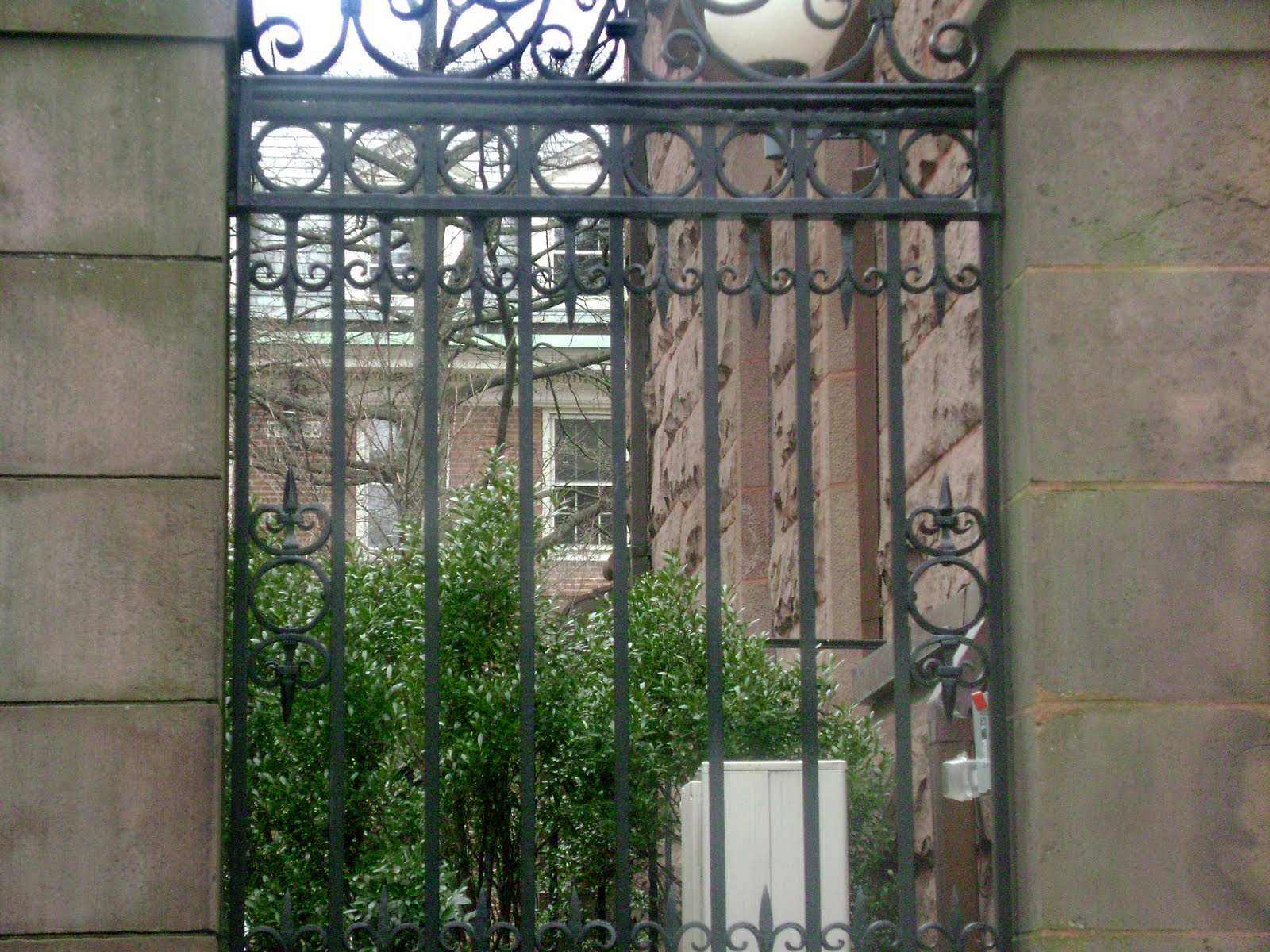 Spring 2010 Digital Photography Yale University Gate