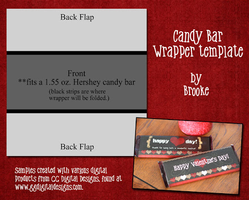 valentine candy bar wrapper templates - cookie nut creations valentine candy wrappers