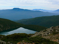 Mt Picton and Hartz Lake from the slopes of Hartz Peak - 8th March 2008