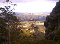View from the top of the gully on the track to Mt Roland from Claude Rd, 26th Dec 2006