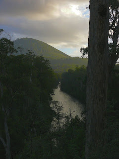 Huon River from the Airwalk - 5 May 2007