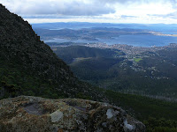 Hobart from ZigZag Track - 10 May 2007
