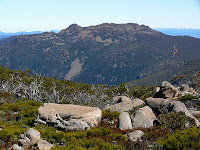 Collins Bonnet from Thark Ridge - 25 Oct 2007