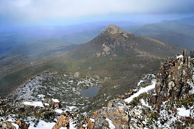 Mt Snowy from Hartz Peak - 3 October 2009