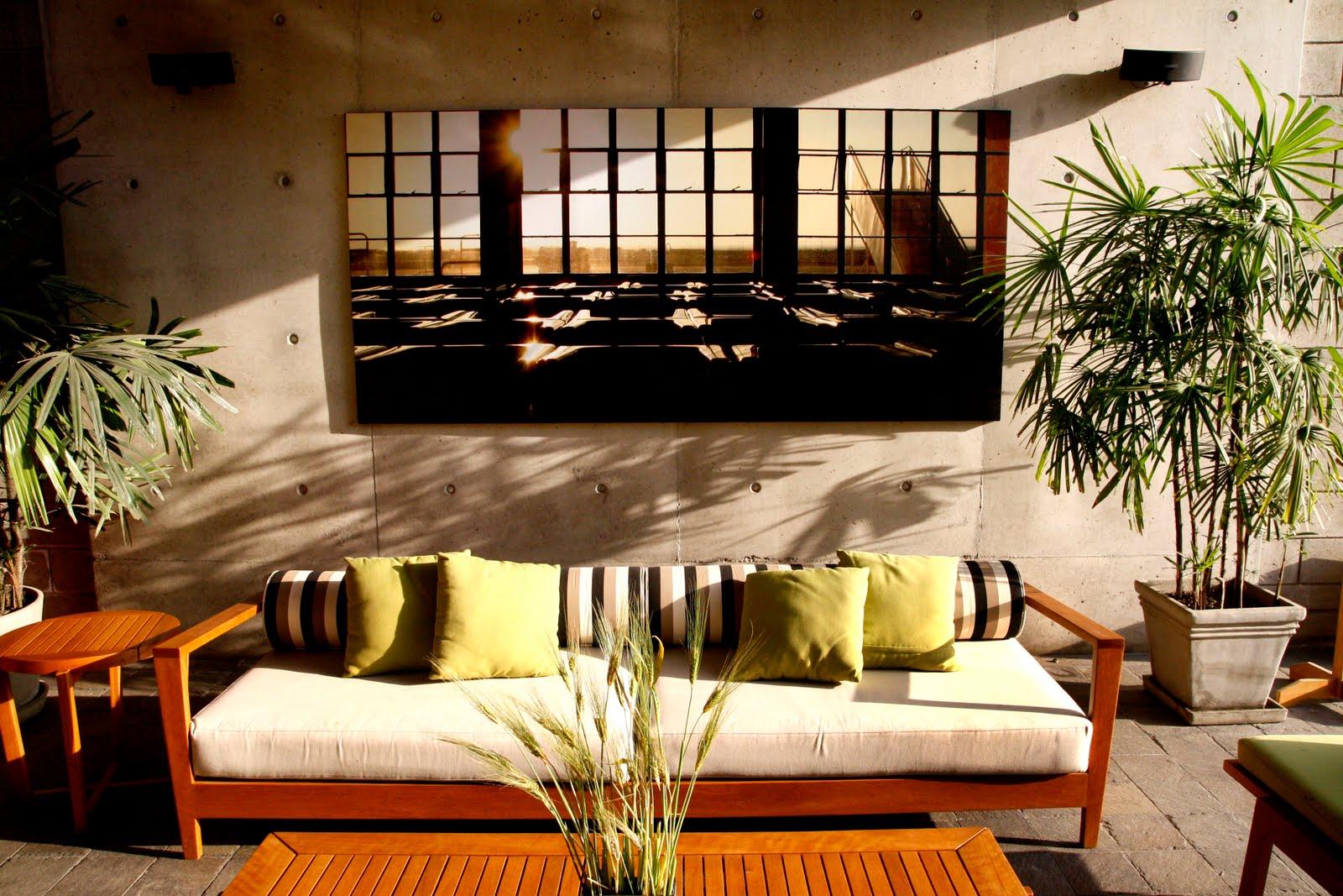 Zoom Foto Arte Terraza De Una Casa De Oscar Borasino