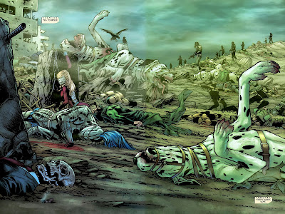 Image result for final crisis #4 bludhaven