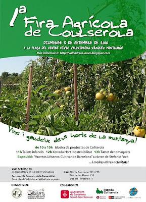 PRIMERA FIRA AGRICOLA DE COLLSEROLA