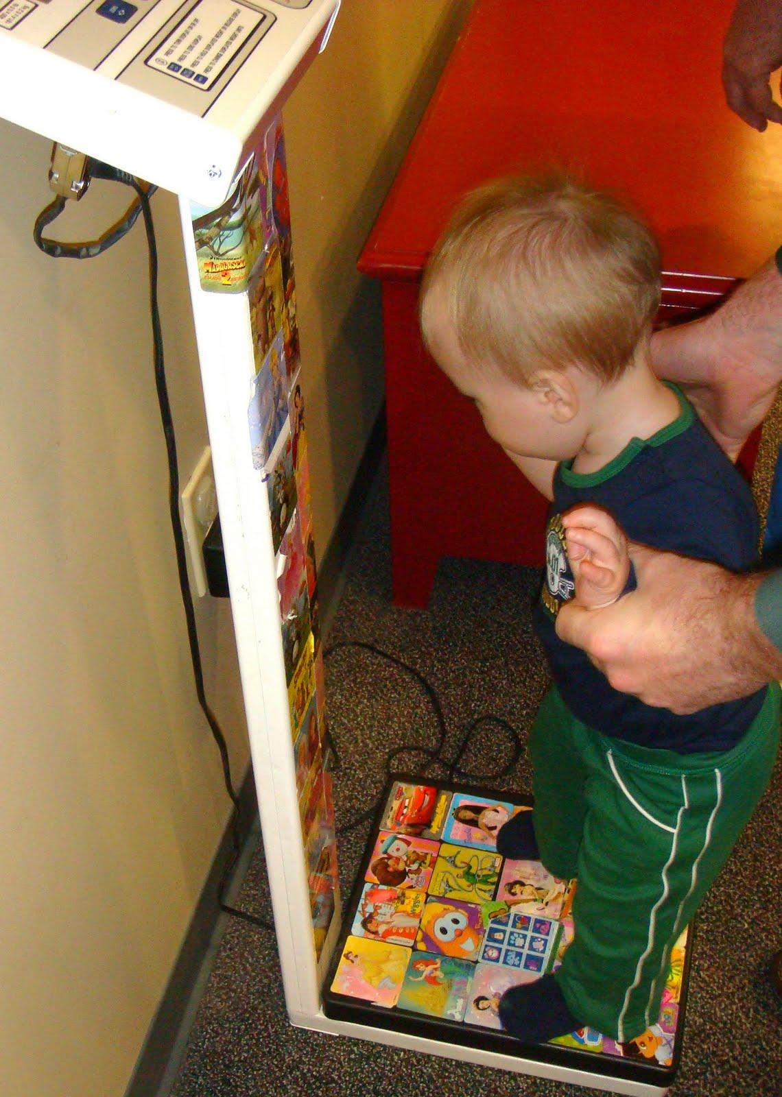 1 Year Pediatrcian Visit