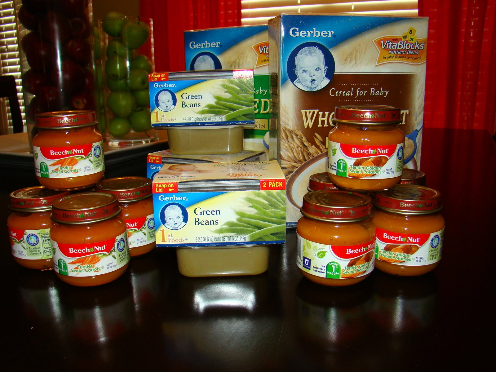Baby Food: Some Complicated Junk