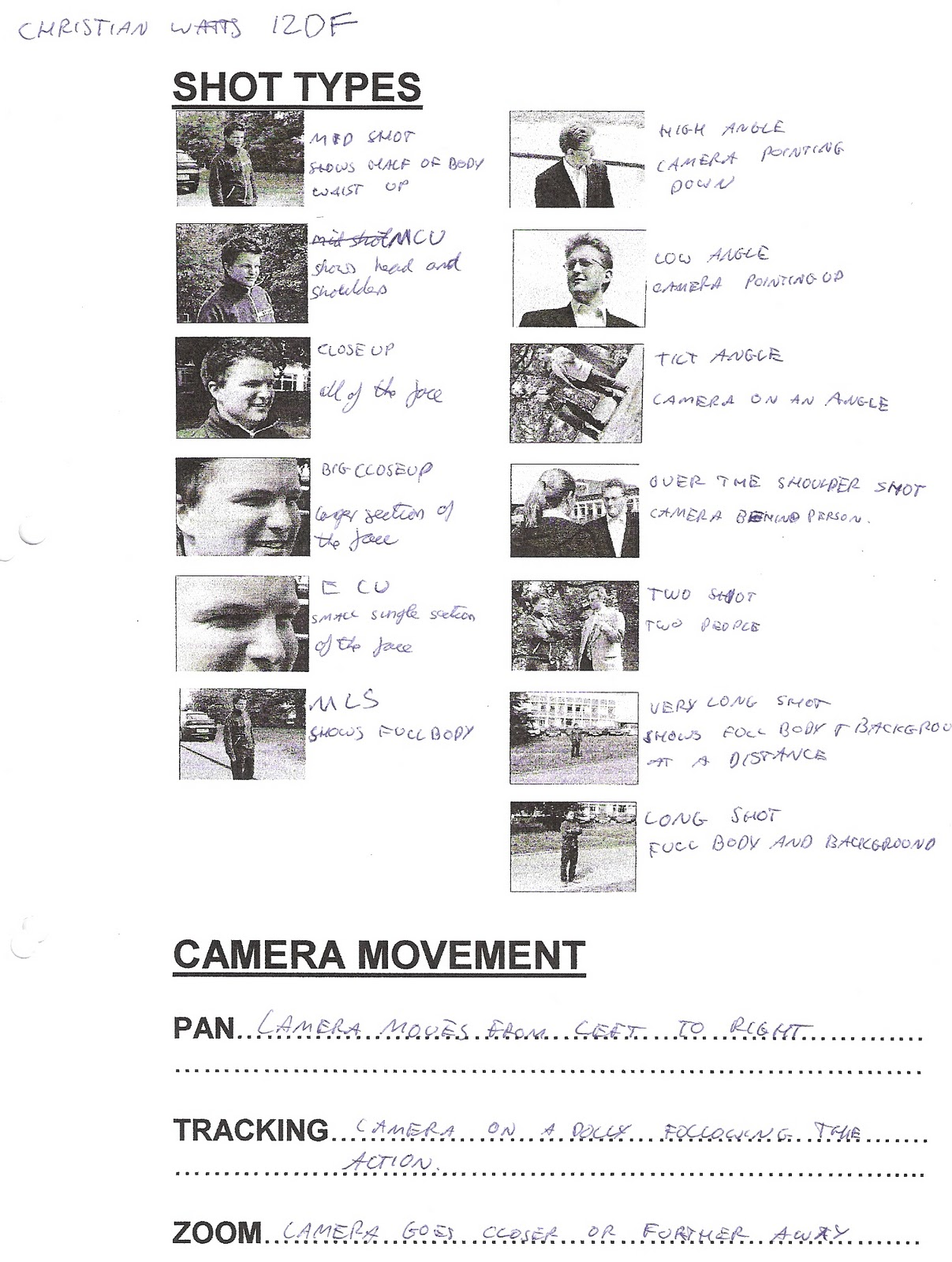 Chris Watts As Media Camera Shots