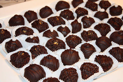 Homemade Chocolates- have some cake scraps? Make some delicious truffles! | by Let the Baking Begin!