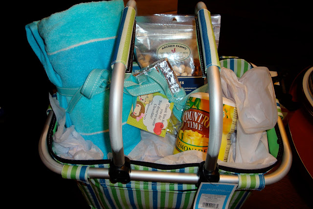 Summer Survival Basket