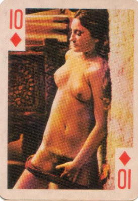 Confirm. And Vinatge nude playing cards consider, that