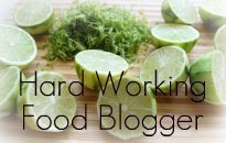 Hard Working Food Blogger Award