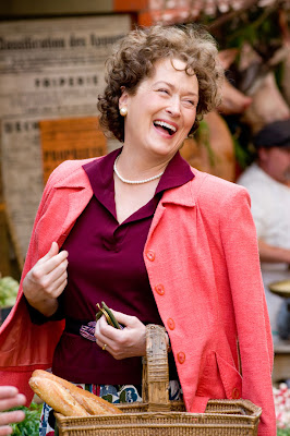 Meryl Streep as Julia Child - Julie & Julia Movie