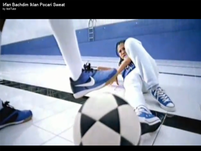 video iklan irfan bachdim di pocari sweat lupacebook