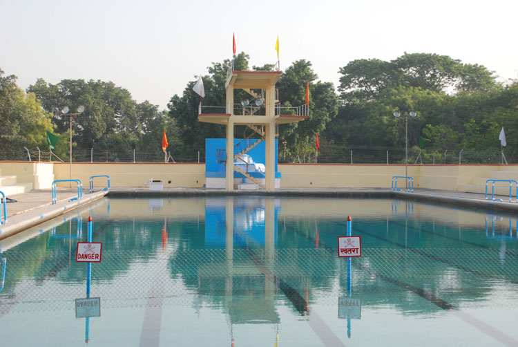 Varanasi View Swimming Pool Inaugurated In Bhu