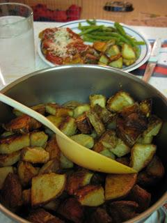 Garlic Parmesean Roasted Potatoes
