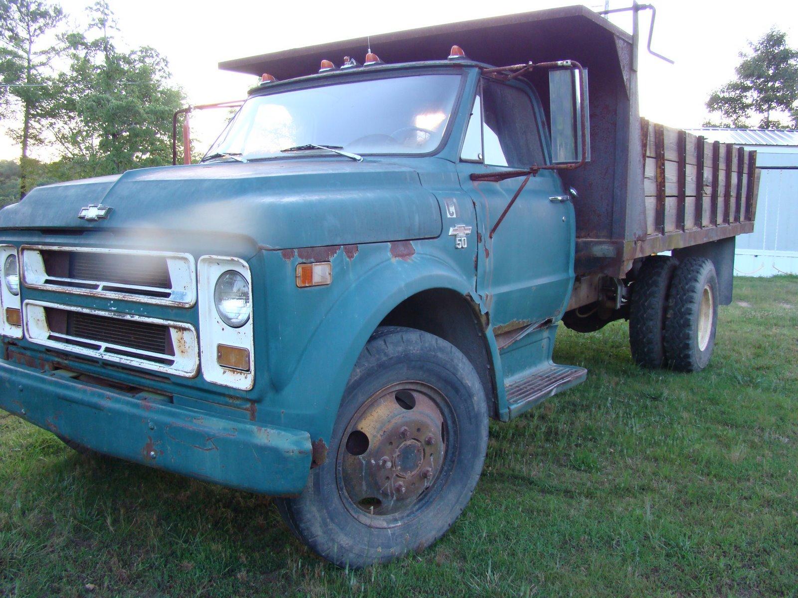 1970 CHEVROLET C50 GRAIN TRUCK CS530P136499   C50 Truck