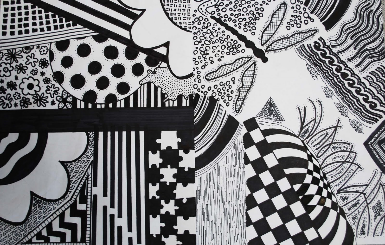 Isfeld Creative Arts: Line Doodles