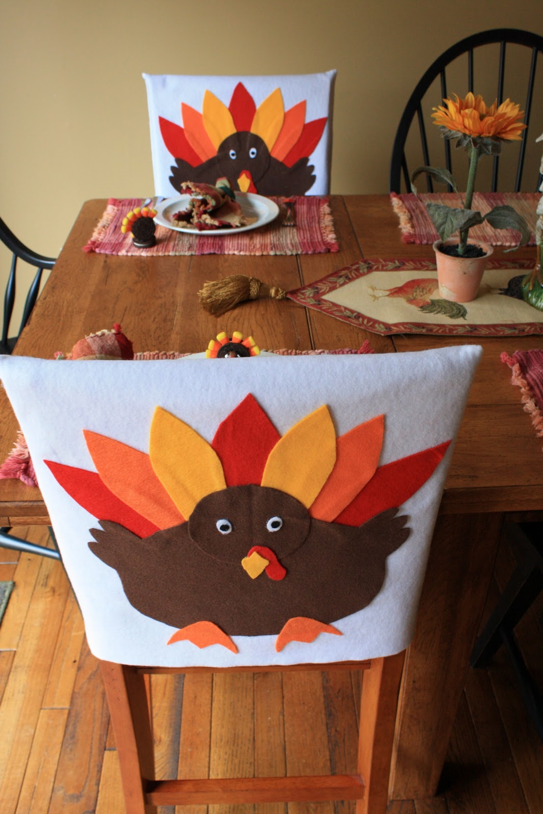 Fall Chair Covers Small Cora Cooks Crazy For Thanksgiving Turkey I 39ve Got You