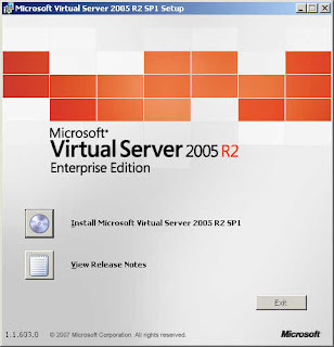 Microsoft Virtual Server 2005 R2 SP1
