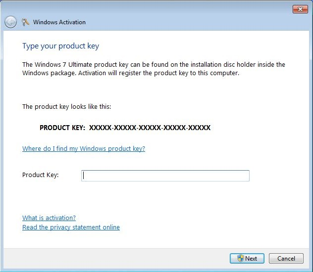 what is windows 7 product id