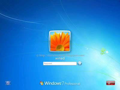 Windows 7 Logon Screen
