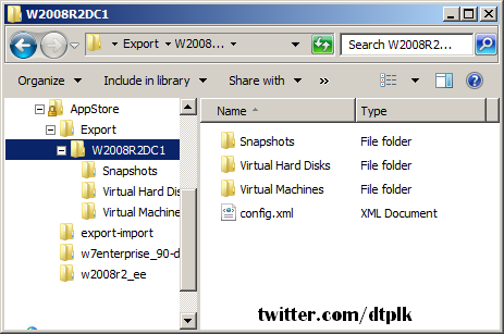 การส งออก virtual machine บนระบบ hyper v windows administrator blog