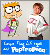 Poptropica Life Size Wall Prints