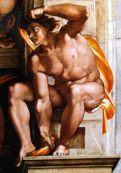 Dibujando el hombre humano desnudo
