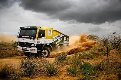 Brazilian team Dakar Rally