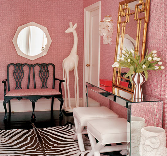 Whitney Brock Interior Design : Pink Is In