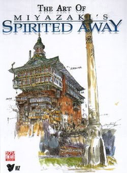 The art of miyazakis spirited away book