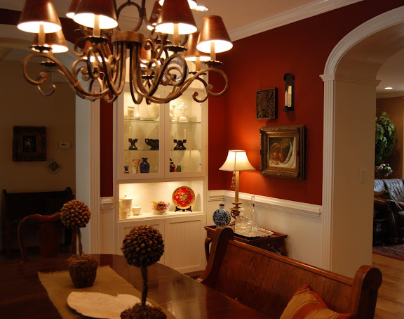 Imparting Grace: Show Us Your Life: The Dining Room