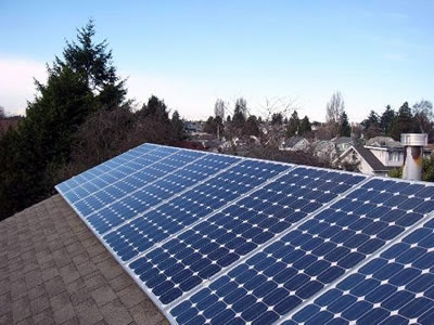 Washington DC solar energy, commercial property values