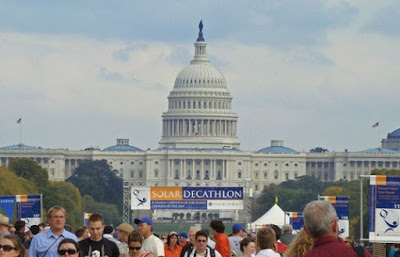 US Capitol, Washington DC, solar decathalon