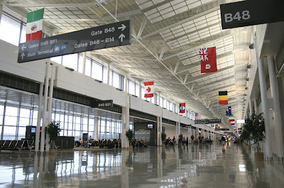 airport design and security, Washington DC