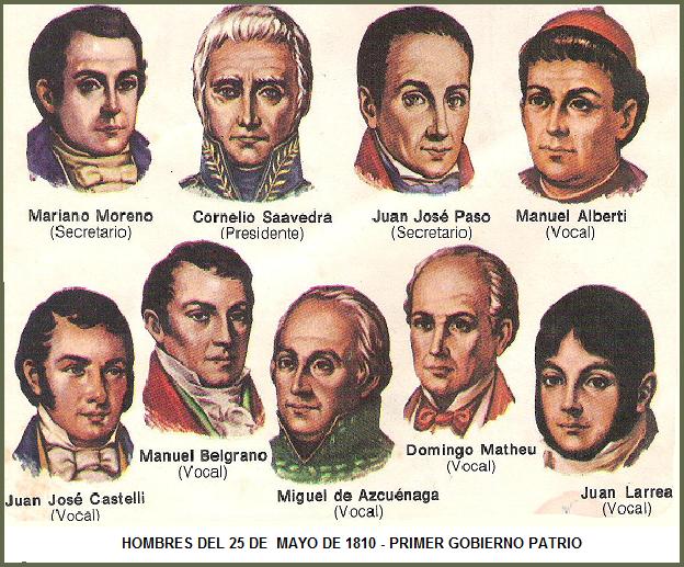 25 De Mayo De 1810 Relato Para Niños Sobre Lo Que Sucedio En La