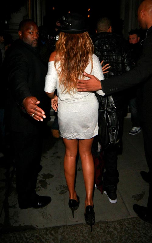 Beyonce And Butt Pads 63