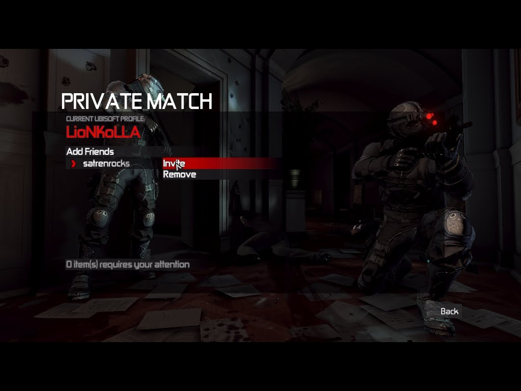 LioN KoLLA: How to Play Splinter Cell Conviction Co-Op And Multiplayer