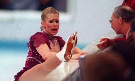 Tonya Harding Laces >> ICE STYLE.....Figure Skating Costume Question: White vs. Beige Skates? | Nick Verreos