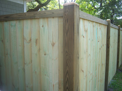 wood picket fence panels Fence Me In Pinterest Picket fence