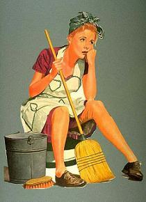 Nuestra amiga la limpiadora! nos salvará de más de una!!!