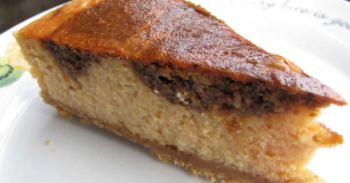 Baked Ricotta Cheese Cake No Base