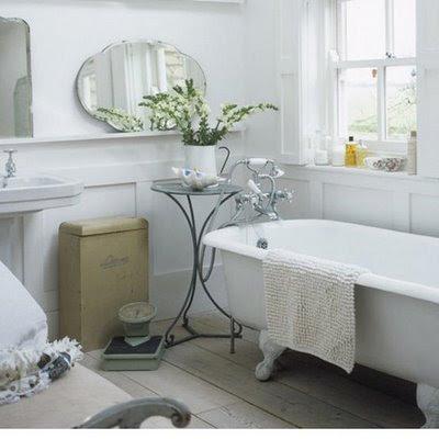 Un bagno romantico shabby chic interiors for Bagno romantico