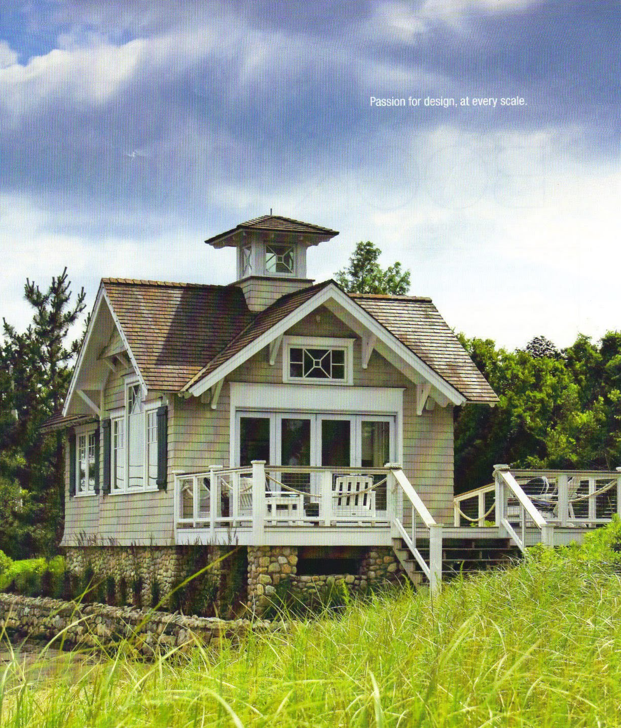 Beach Home Decor: Lipstick And Rouge: Little Houses, Big Curb Appeal
