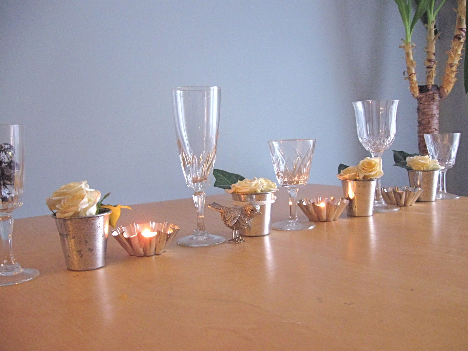 Constant Works: DIY wedding table decorations