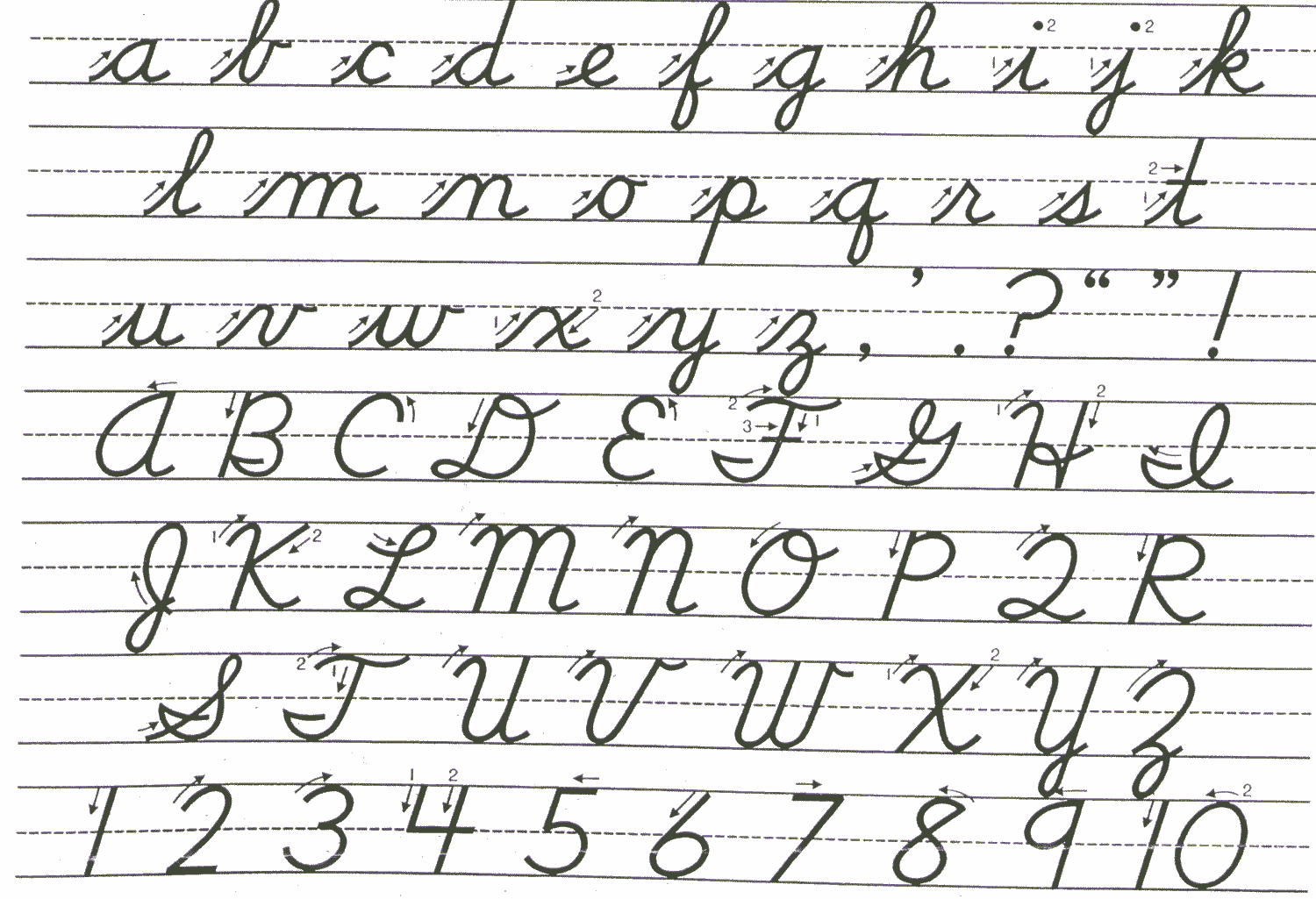 Grade 3 To 7 Letters Of The Alphabet